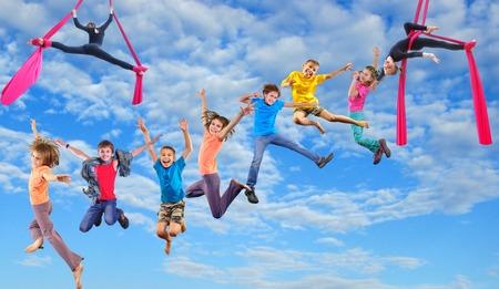Gyerek légtorna Fertődön